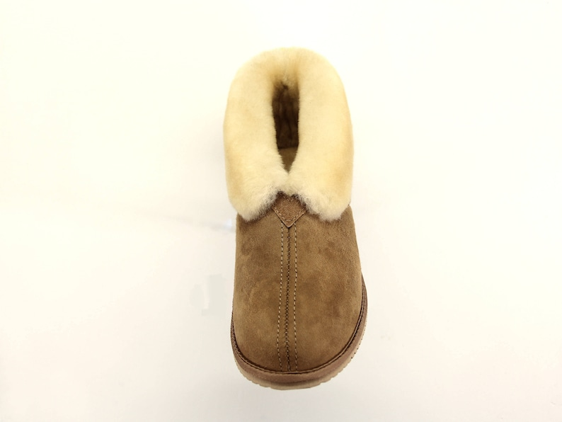 01e35d921d0e6 VIBRAM SOLE CLASSIC - Genuine sheepskin slippers with removable sheepskin  insole, proudly handmade in South San Francisco by Wooly Rascals