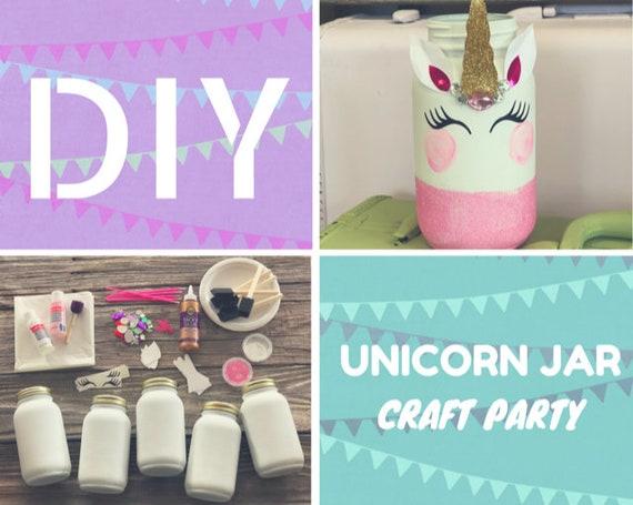 Unicorn Birthday Party Craft Kit Diy Kids