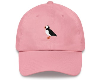 Puffin - Dad Hat - Unstractured 6-panel Baseball Style outdoor Sports Hat 0a8c1fb791cc