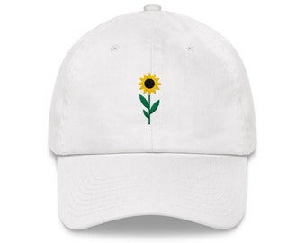 Sunflower - Dad Hat - Unstractured 6-panel Baseball Style outdoor Sports Hat ee6471c6c173