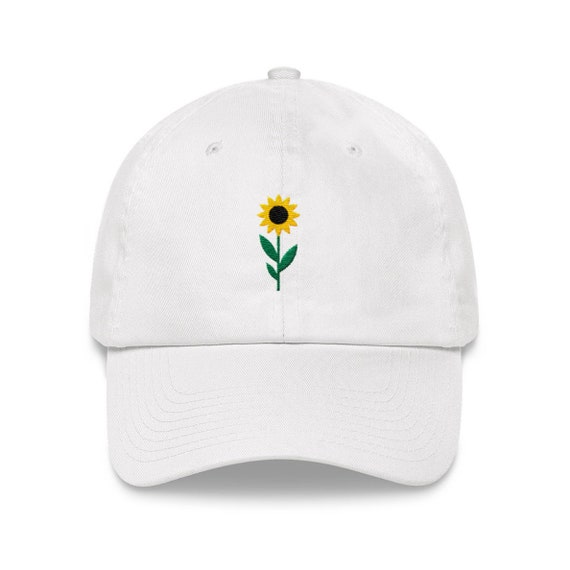 Sunflower Dad Hat Unstractured 6-panel Baseball Style  d3b2b9db343