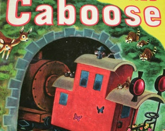 The Little Red Caboose, Big Golden Book, Marion Potter, Tibor Gergely, 1972, 1953
