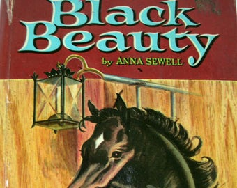Black Beauty, Anna Sewell, Vintage 1950s Horse Book, 1955