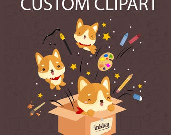 License & Custom Clipart