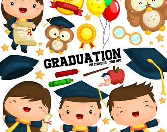 Student and Graduation Clipart - School and University Clip Art - Free SVG on Request