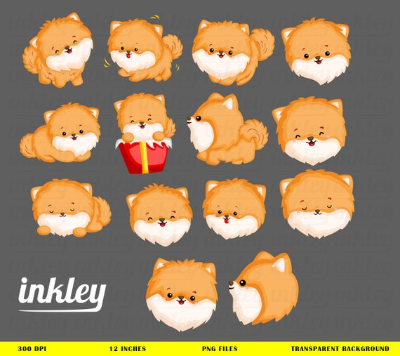 Dogs Clipart Dog Puppy Animal Clip Art Pet Png Cute Animal Clip Art Pomeranian Toys Cute Dog Present Svg Home Pet Icon