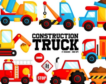 Truck and Cars Clipart - Many Transportation Clip Art - Land Transportation - Free SVG on Request