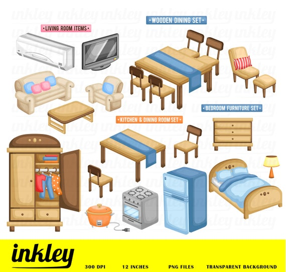 Furniture Clipart Clip Art Png