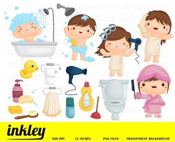 Bad Dusche Clipart Bad Dusche Clip Art Bad Dusche Png Seife Etsy