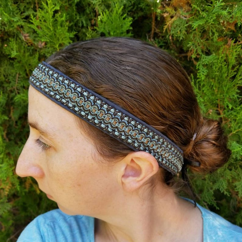 Men s Viking headband Ragnar inspired hippie style tie  82def9782d3