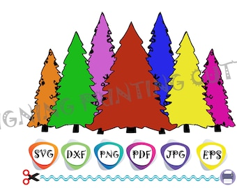 CHRISTMAS TREES SVG,Merry Christmas svg,Christmas Tree,Decoration,Face mask svg,Sublimation,Silhouette Cutting,Svg Cricut,Shirt svg,clipart