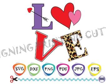 LOVE svg,FACE MASK svg,Valentine's Day svg,Heart svg,Lifeline svg,Leopard Letter svg,Cut Files,Silhouette Cutting,Svg Cricut,Sublimation