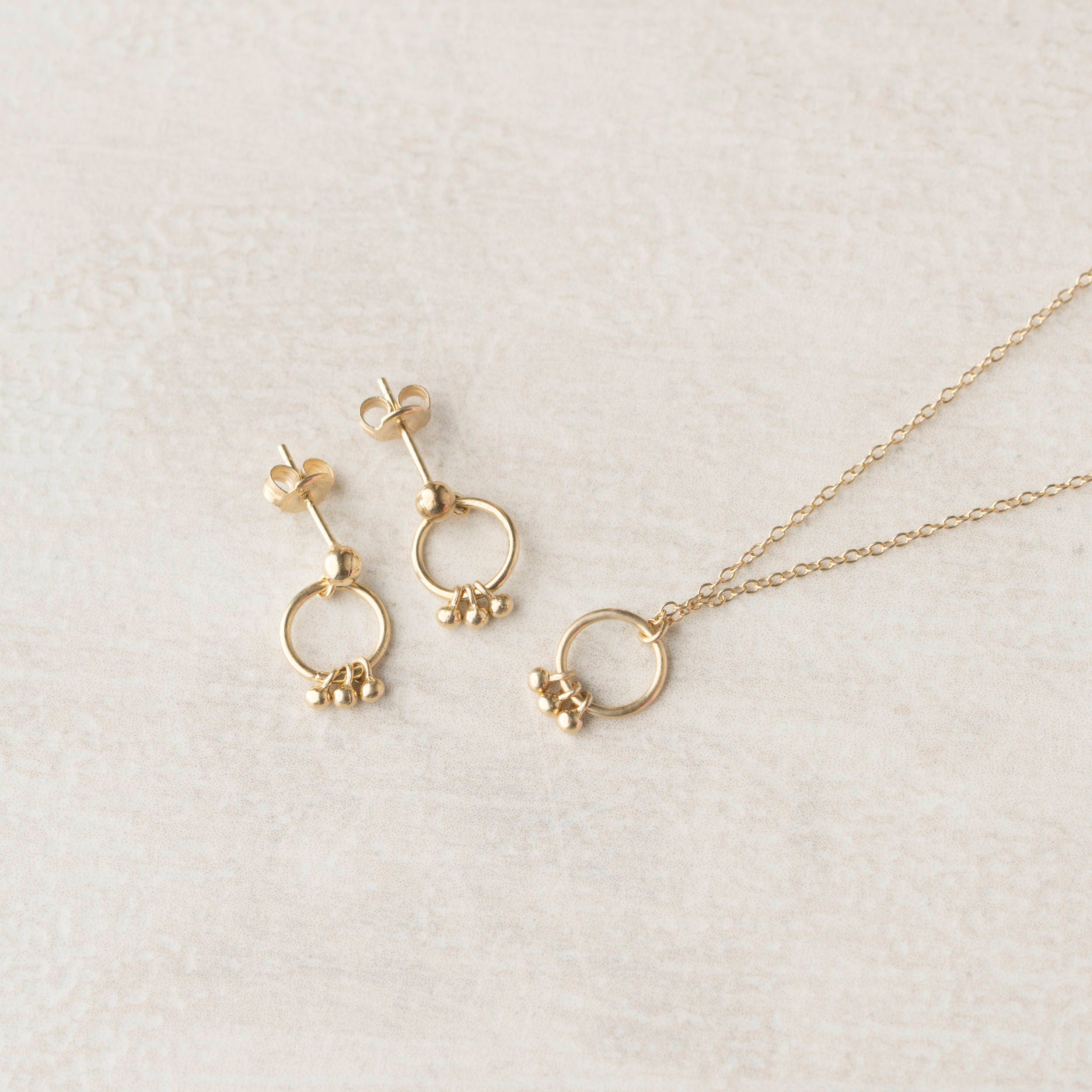 Minimalist Jewelry Set, Delicate Jewelry Set Gold, Dainty Jewelry ...
