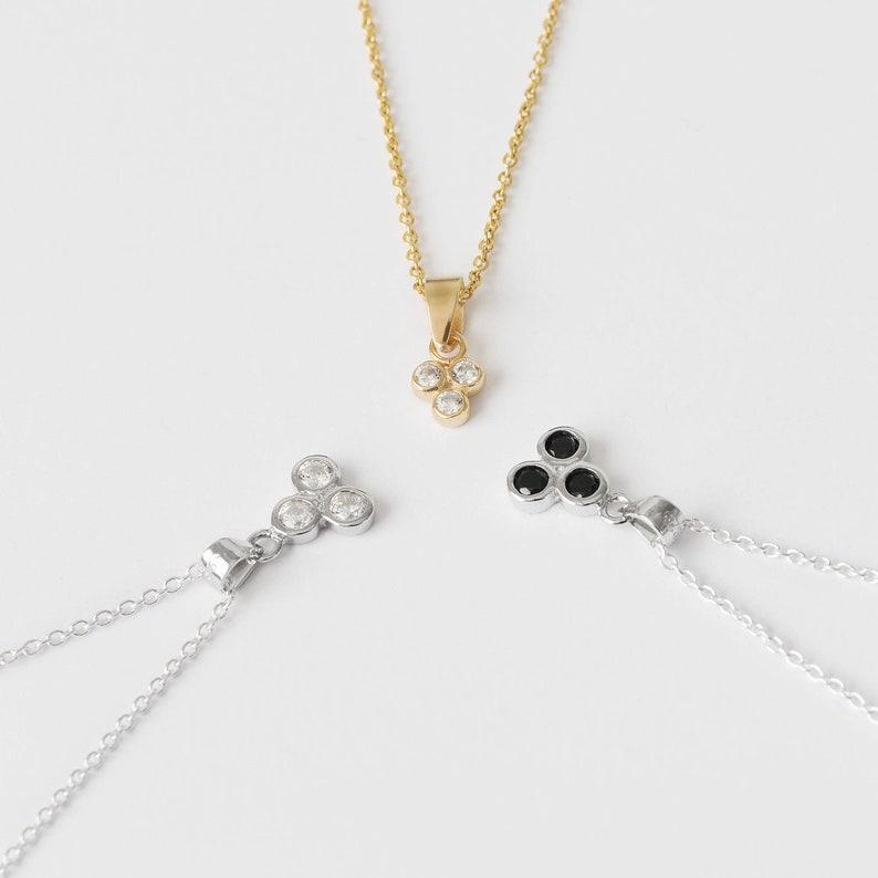 693328252f31 Collar de Circonitas Collar Fino con Brillantes Collar