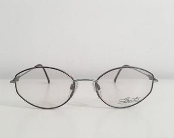e1363fc5e80f New Vintage Silhouette Eye Glasses Unisex Metal M 6298  40