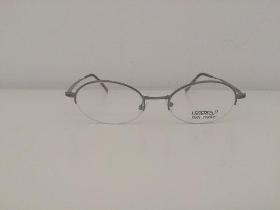0ba9c4dbd7ee New Vintage Lagerfeld Eyeglasses Titanium 4428 02