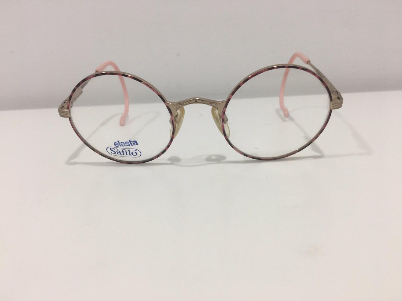 7085abe703f7 New Vintage Childrens Kids Safilo Elasta Round Eyeglasses K