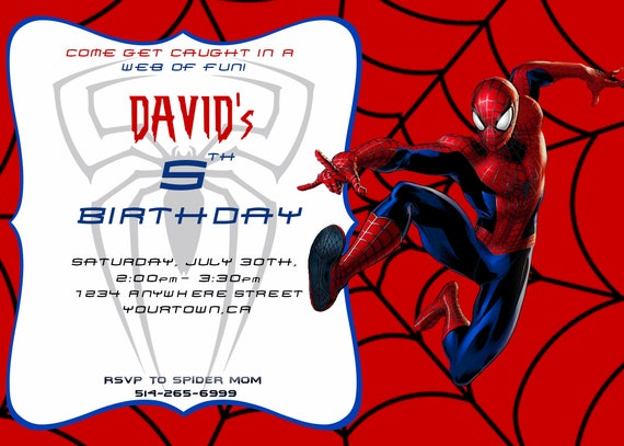 image relating to Printable Spiderman Invitations identify Spiderman Invite, Spiderman Birthday Invitation, Spiderman Invitation, Printable Spiderman, Spiderman Bash, Surprise Spiderman Birthday