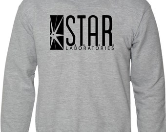 869782141a9 STAR Laboratories Sweatshirt The Flash New TV Series S.T.A.R. Labs Fan  Jumper