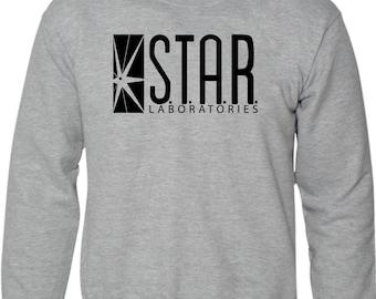 STAR Laboratories Sweatshirt The Flash New TV Series S.T.A.R. Labs Fan Jumper
