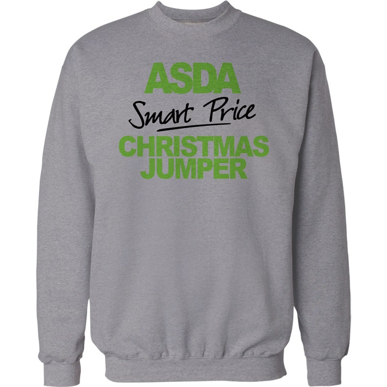 71d6d44c1 Christmas Jumper Funny Gift ASDA Smart Price Xmas Sweater Mens