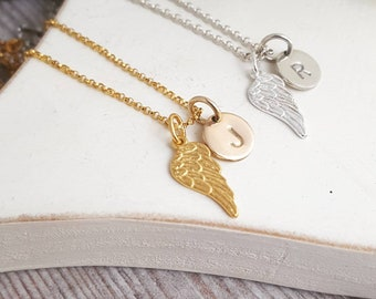 Angel necklace, Personalised Memory Necklace, Remembrance Jewellery, Memorial Necklace, Remembrance Necklace, Remembrance gift, Loss Gift