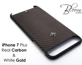 Carbone iPhone7 Plus coque en fibre de carbone iPhone 7 Plus coque  ultrafine iPhone 7 Plus coque carbone véritable iPhone 7 iPhone7 Plus étui  carbone ... d625558ed02