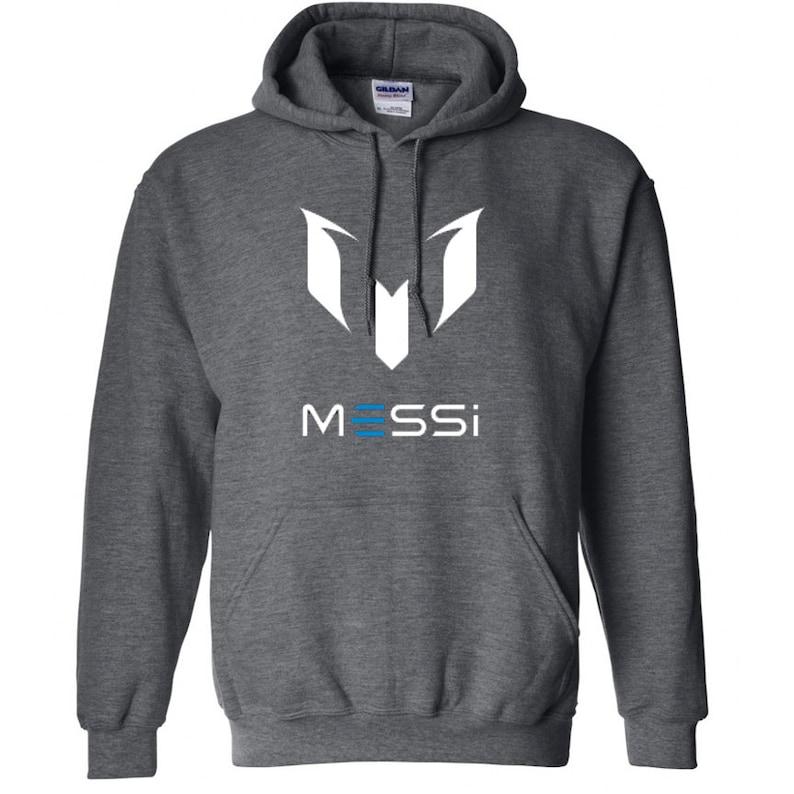 43c722400 Lionel Messi Soccer Hoodie Custom Unisex Adult Argentina | Etsy