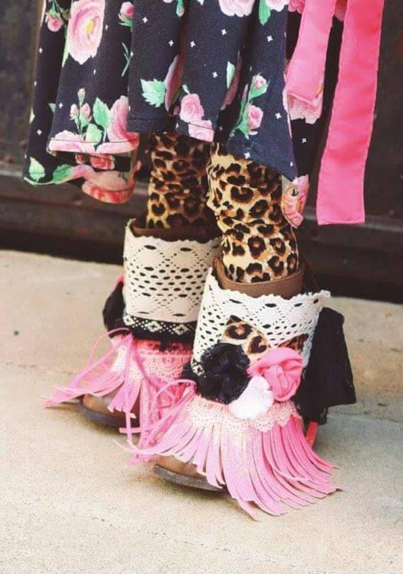 875c8549f77ac Sandy leggings ... Pink PomPon... Girls leggings toddler | Etsy