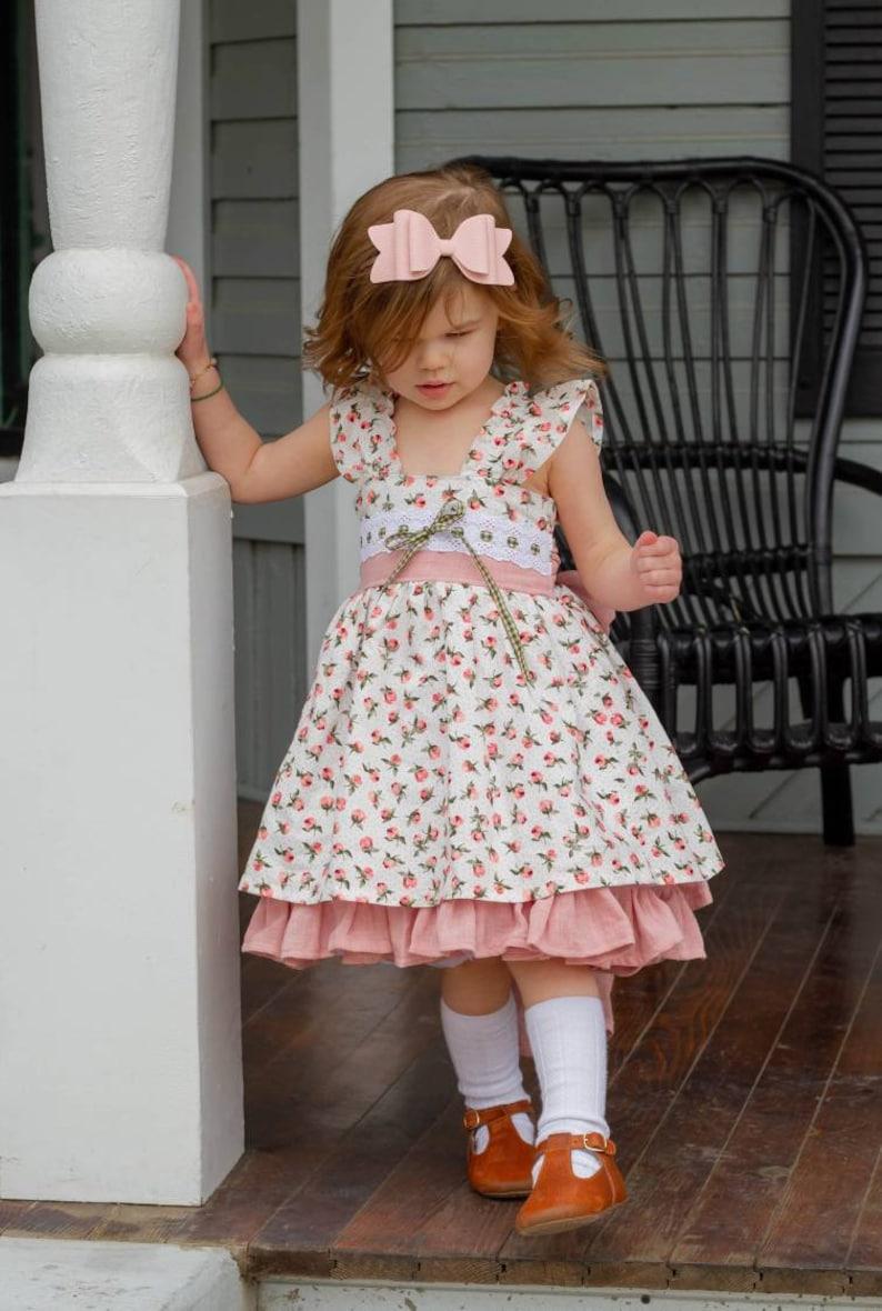 e518c2288d09 Tessa Spring dress Easter dress tea party dress Spring | Etsy