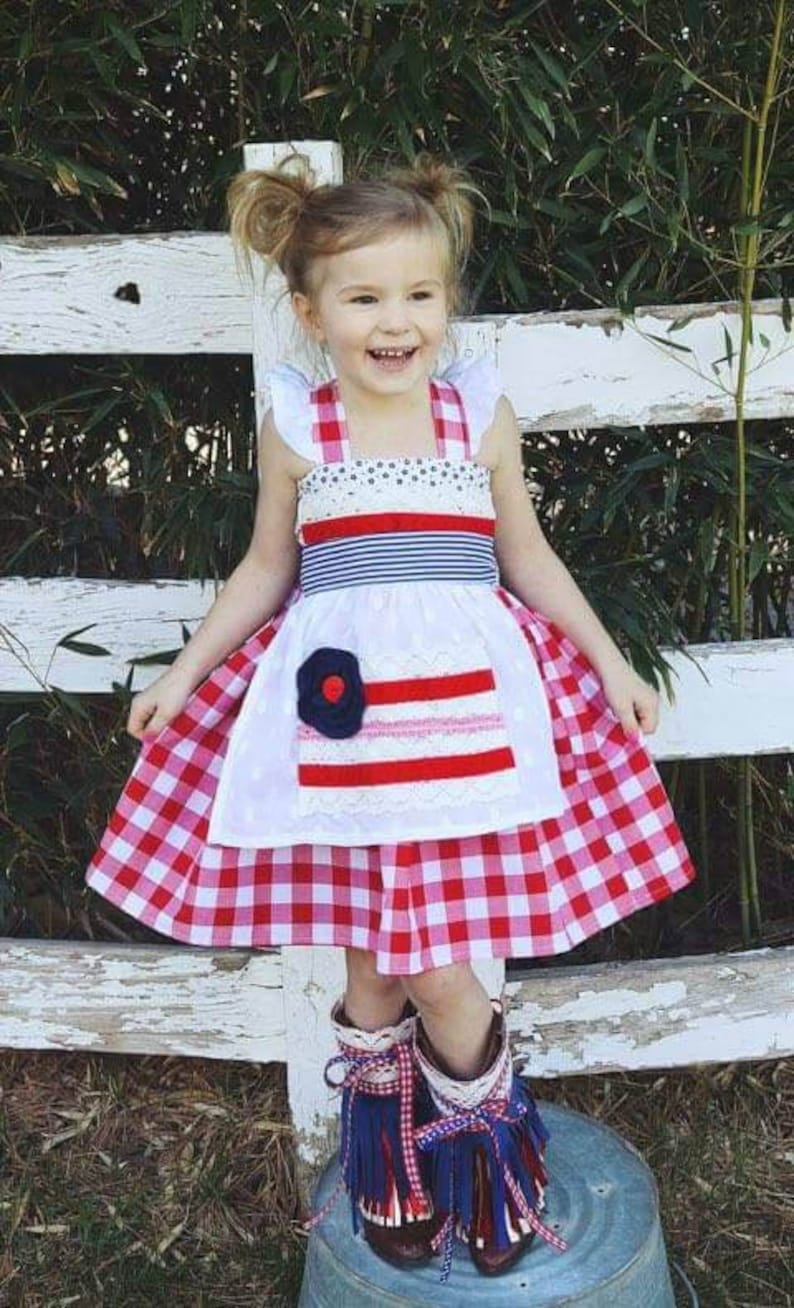 1644cf6ed5c Girl s 4th of July outfit boutique patriotic outfit