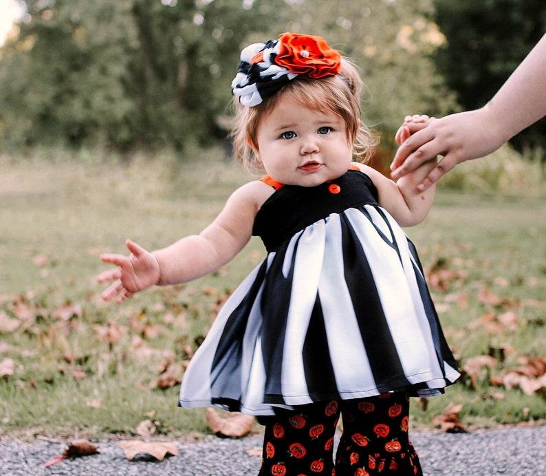 6a33237772646 Hazel Bundle - Baby girl Halloween outfit, toddler girl Halloween outfit,  girl Halloween outfit, ruffle pants, pumpkin outfit, pumpkin dress