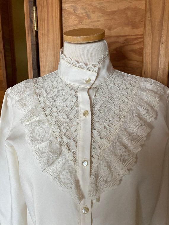 Vintage Victorian Style Blouse