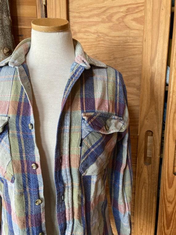 Vintage 90s Levis Plaid Flannel