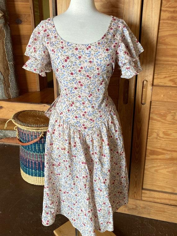Vintage 1980s/90s Floral Printed Dress