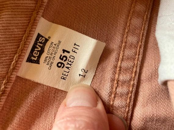 Vintage Dusty Pink Levis Orange Tab Shorts - image 5