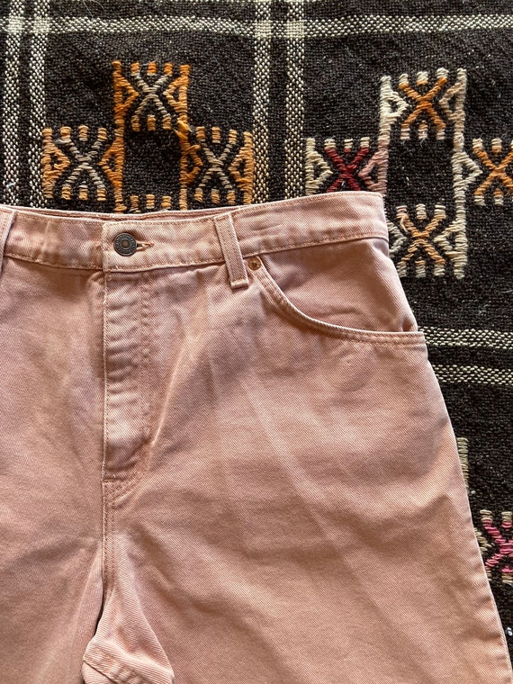 Vintage Dusty Pink Levis Orange Tab Shorts - image 2