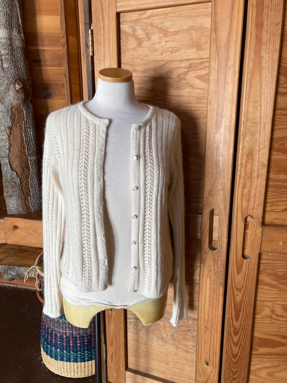 Vintage Angora and Lambswool Sweater