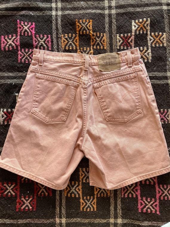 Vintage Dusty Pink Levis Orange Tab Shorts - image 3