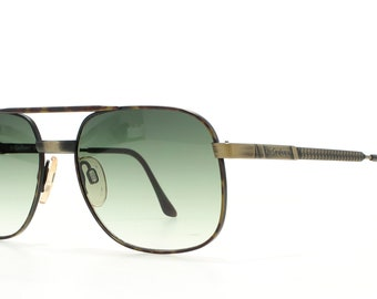 039887ce740bf YSL 4086 Y298 Brown Vintage Sunglasses Square For Men and Women
