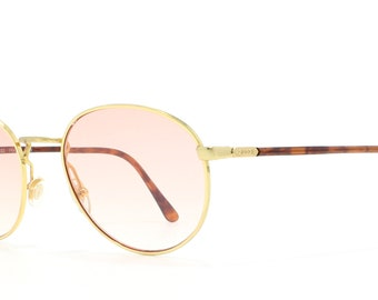 c9f74be39d3 Gucci 1311 63S Gold Vintage Sunglasses Round For Men and Women