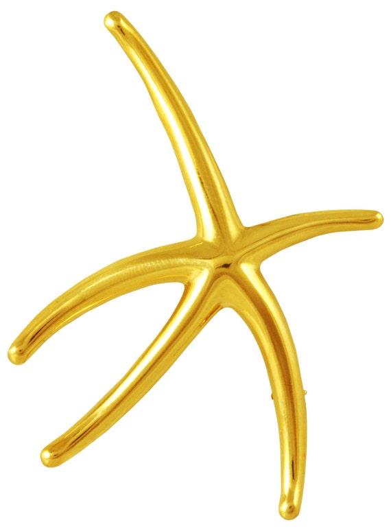 Tiffany Elsa Peretti Starfish Pin