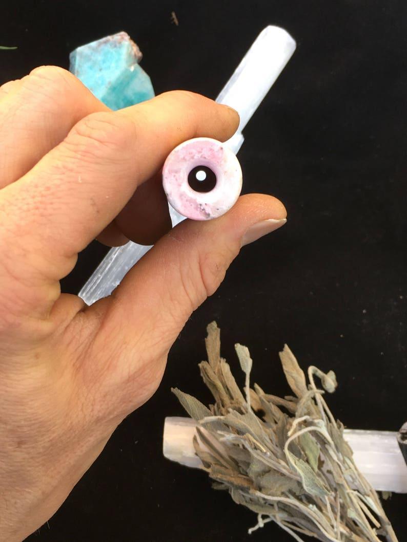 Rhodonite Crystal Pipe