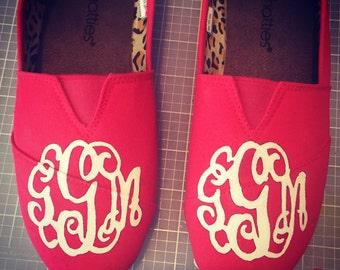 Monogram Customized Shoes!