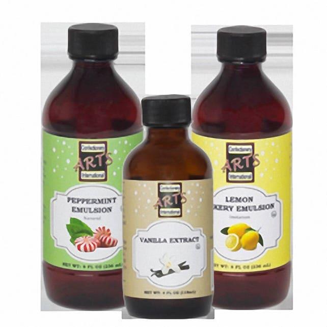 8 oz Clear Vanilla Extract - Imitation