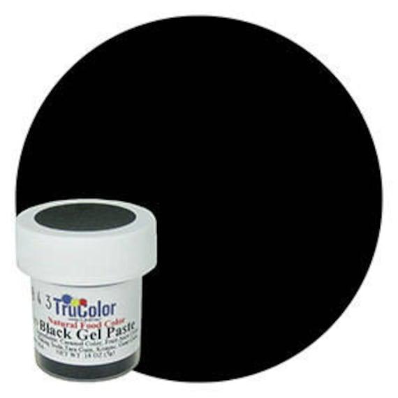 New Bigger Bottle Black Trucolor Natural Food Color Powder Etsy