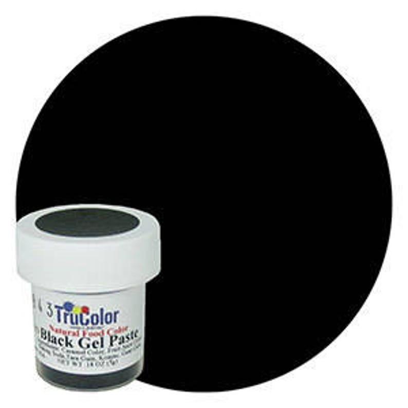 NEW BIGGER BOTTLE Black TruColor Natural Food Color Powder | Etsy