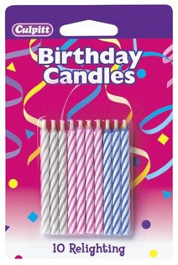 Relighting Birthday Candles 10 Count Trick 225