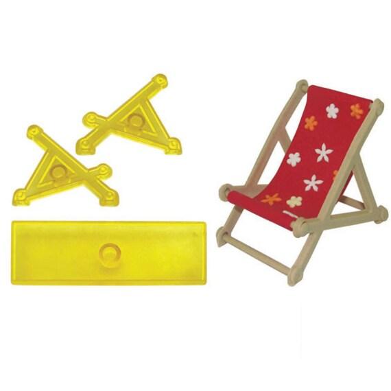 Jem 3 Pc Deck Chair Cutter Fondant Rollfondant Ton Handwerk