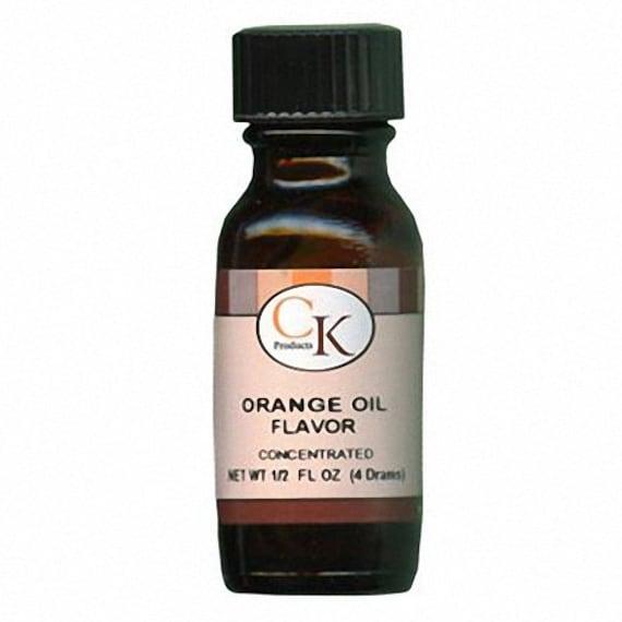 1/2 oz Orange Oil Flavor - Artificial Concentrate KOSHER 4 drams